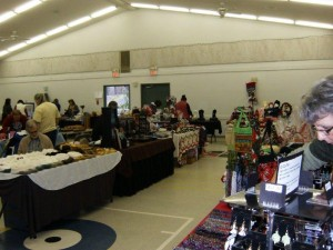 Large Hall Christmas Craft Fair 2012
